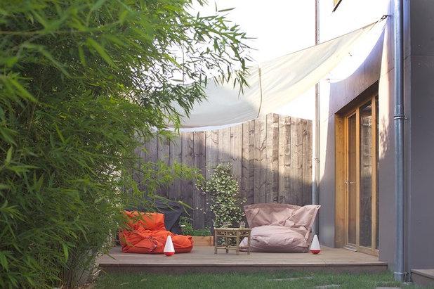 Contemporain Terrasse et Patio by Fabien Perret et associés architecte
