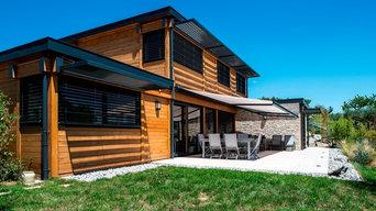 Maison Bois sur lyon dans le Rhone (69)