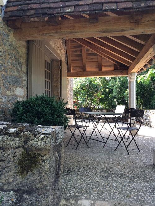 Photos et id es d co de terrasses campagne - Deco pour terrasse ...