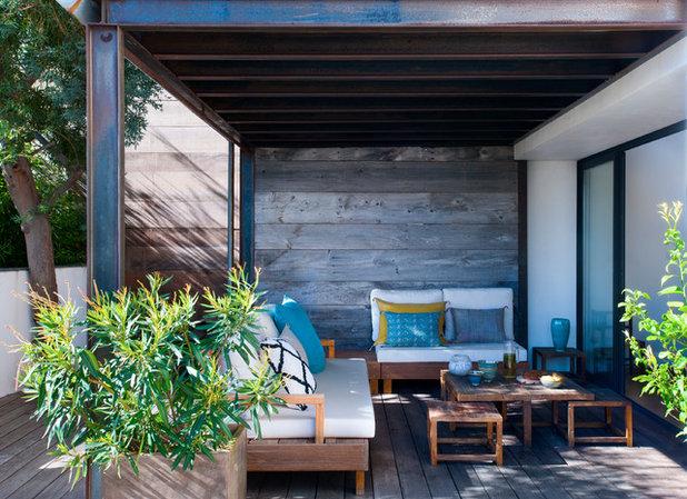Bord de Mer Terrasse en Bois by Carole Dugelay, Architecture Intérieure-Décoration