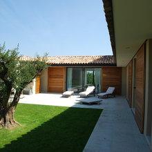 Maison moderne neuve 242m² - COGOLIN - Mediterran - Garten ...