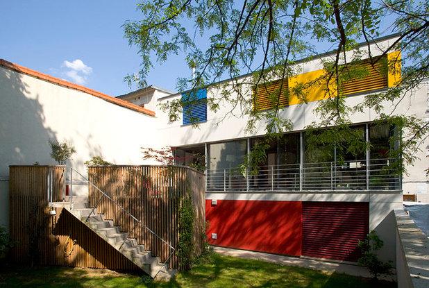 Moderne Terrasse et Patio by lorenzomahe architectes