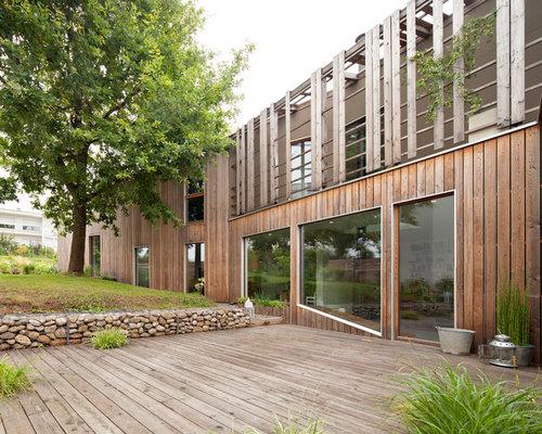 photos et id es d co de terrasses contemporaines. Black Bedroom Furniture Sets. Home Design Ideas