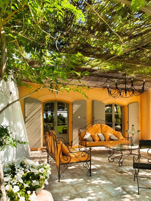 Outdoor Gestaltung Im Innenhof Mit Pergola Ideen F R