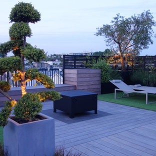 This is an example of a contemporary deck in Paris.