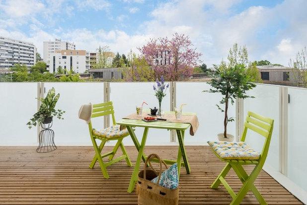 Campagne Terrasse en Bois by Séverine SOLEYMIEUX, HOME-STAGING LYON - RHA