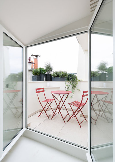Moderno Terrazza Moderne Terrasse Et Balcon