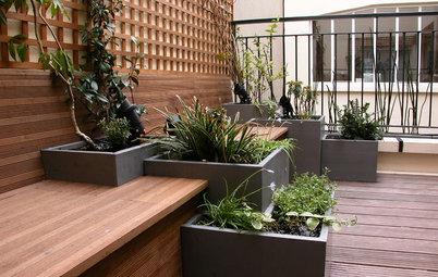 Progettare un Terrazzo di Città Bello Come i Giardini di Campagna