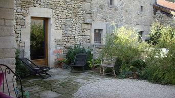 Petit jardin clos