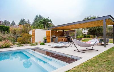 Avant/Après : Un pool house pensé pour vivre dehors tout l'été