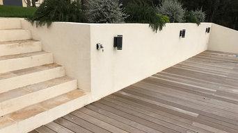 Réalisation de mur de clôture