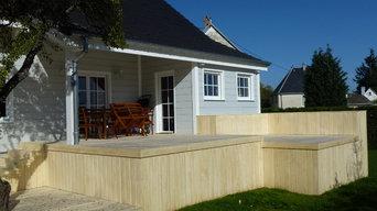 Realisation terrasse bois 78
