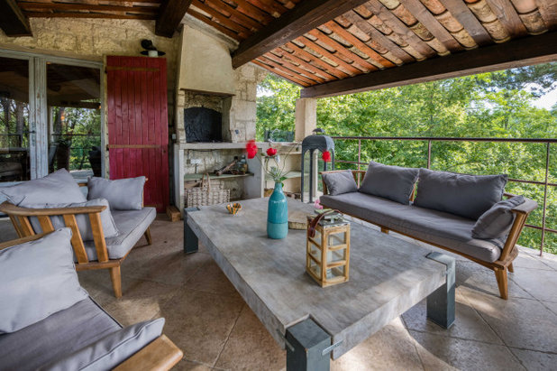 Campagne Terrasse et Patio by I.D.O jardins
