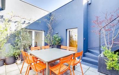 Conseils de pro pour valoriser une petite terrasse grâce à la couleur