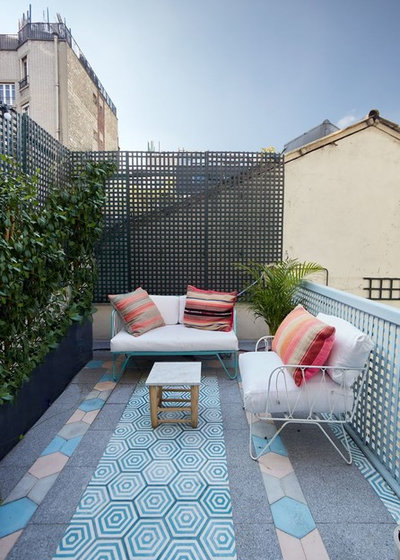 Éclectique Terrasse et Patio by SMDco