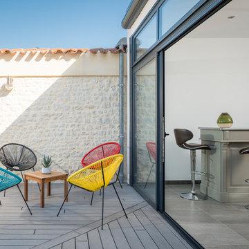 Restructuration et extension d'une maison de ville existante à La Rochelle