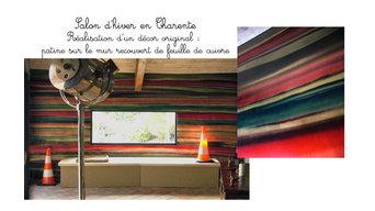 Salon d'hiver en Charente