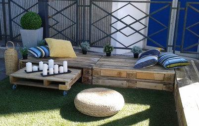 DIY: Gartenmöbel aus Paletten selber bauen