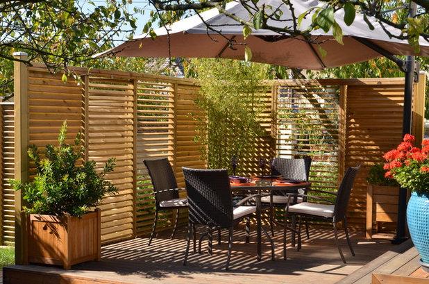 12 id es pour installer un claustra ext rieur dans son jardin. Black Bedroom Furniture Sets. Home Design Ideas