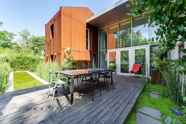 Modern Terrasse by Espaces-Atypiques Nantes