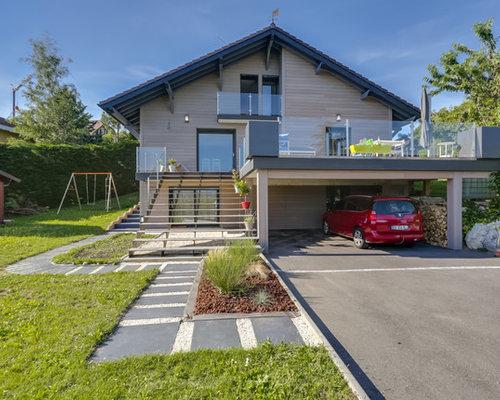 Foto e Idee per Terrazze e Balconi - terrazze e balconi moderni Grenoble