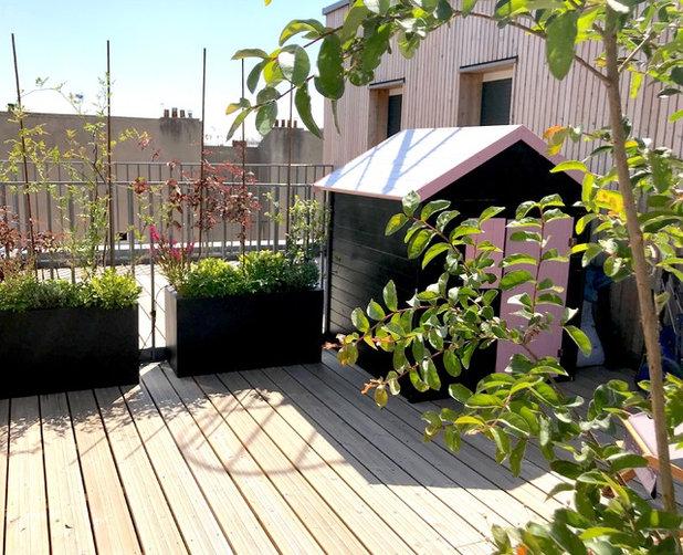 Classique Chic Terrasse et Patio by Erell Pencreac'h -  Paysagiste, Conceptrice