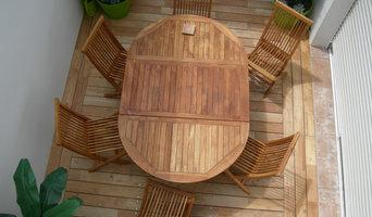 Terrasse en Bois / essence: Acacia ou Robinier