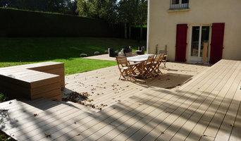 Terrasse en bois pour jardin