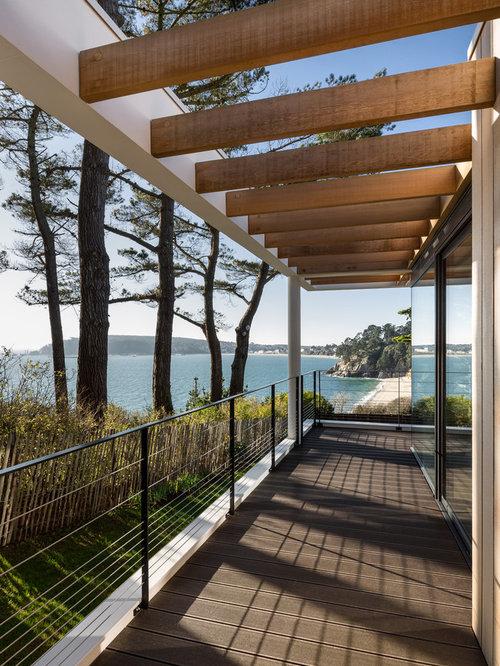 Assez Terrasse couverte en bois : Photos et idées déco HE66