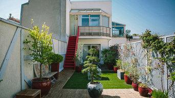 Terrasse suspendue, Boulogne