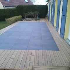 Terrasse grad tendance nature et bois blacqueville fr for Piscine yvetot
