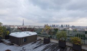 Terrasses et jardin au coeur de Paris