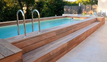 Tour de piscine  à Roquefort les Pins
