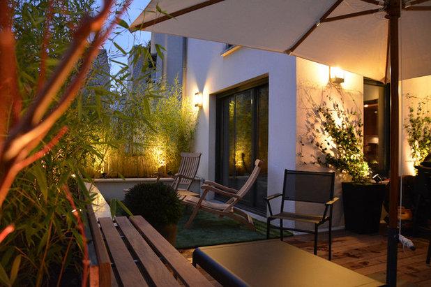 Contemporáneo Patio by L'esprit au vert