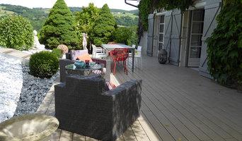 Un espace cocooning sur la terrasse