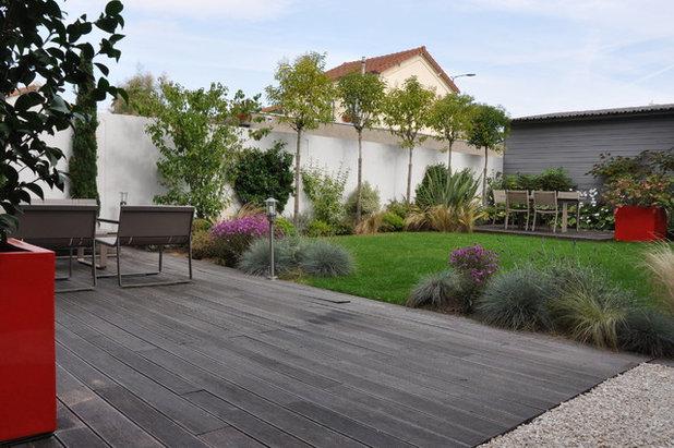 comment personnaliser un jardin de lotissement. Black Bedroom Furniture Sets. Home Design Ideas