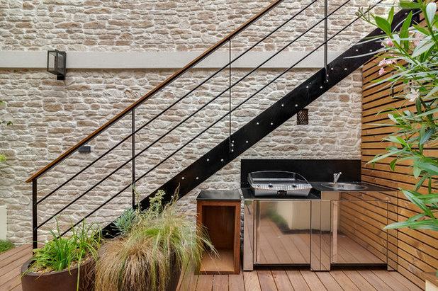 Contemporain Terrasse et Patio by FAAR - Paysagiste Concepteur