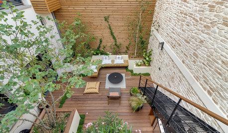 Avant/Après : Un patio tout en verticalité gagne en charme
