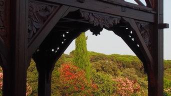 Une terrasse à Saint-Tropez