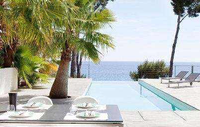 Houzz Tour: Lyst og minimalistisk hjem ved Den Franske Riviera