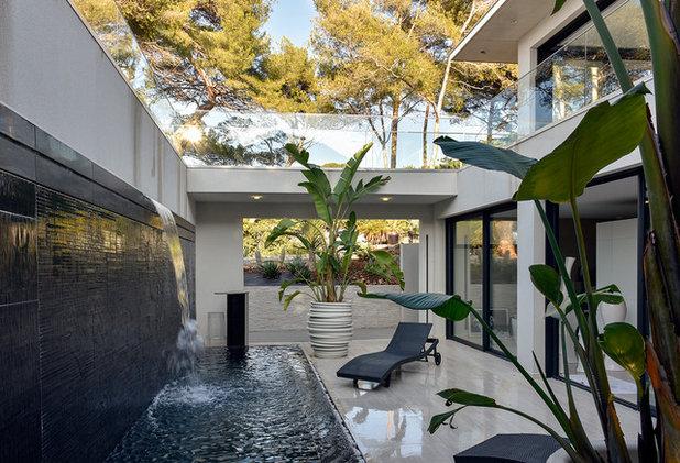 Exotique Terrasse et Patio by frederique legon pyra  architecte