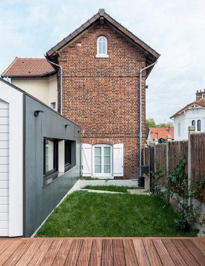 Contemporain Terrasse en Bois by Atelier GMD