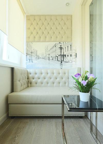 Современный Балкон и лоджия by Ателье Классического Интерьера