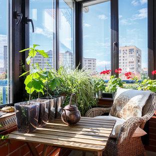 Неиссякаемый источник вдохновения для домашнего уюта: терраса в современном стиле