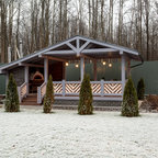 Auburn Hills Composite Deck And Gazebo Traditional