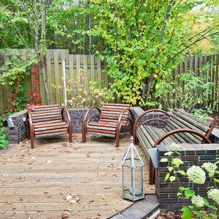 Создайте стильный интерьер: терраса в классическом стиле без защиты от солнца - последний тренд