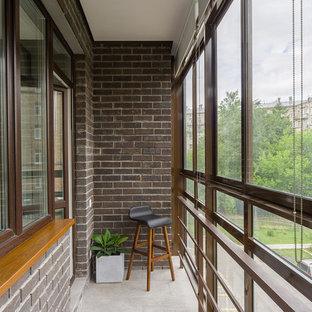 Новые идеи обустройства дома: маленькая терраса в современном стиле