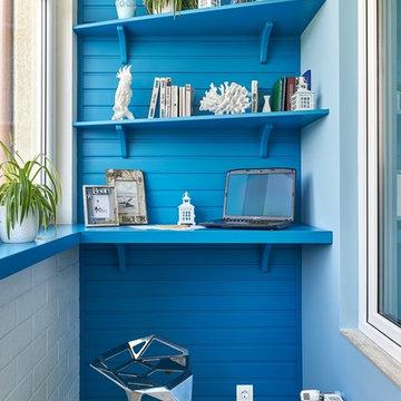 Мебель для квартиры в морском стиле