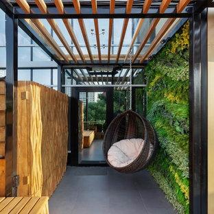 Идея дизайна: терраса в современном стиле