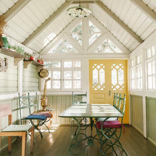 Удачное сочетание для дизайна помещения: терраса в стиле кантри - самое интересное для вас